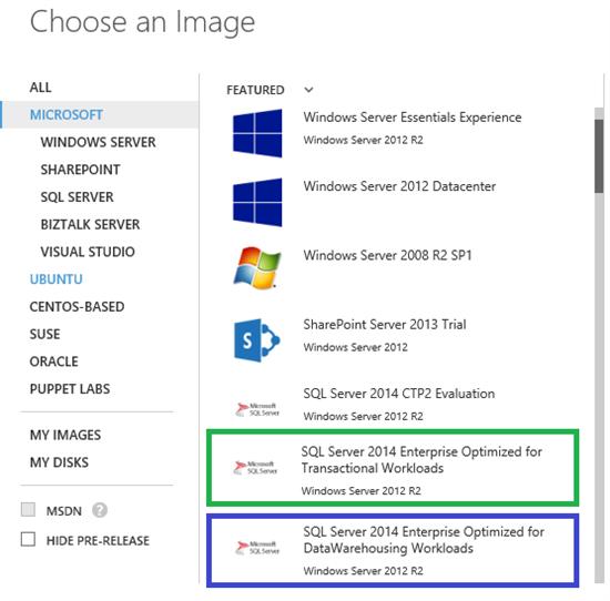 Azure SQL Image
