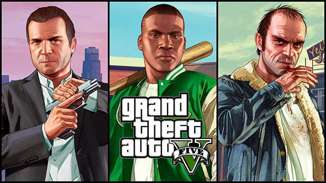 GTA V Xbox One 1
