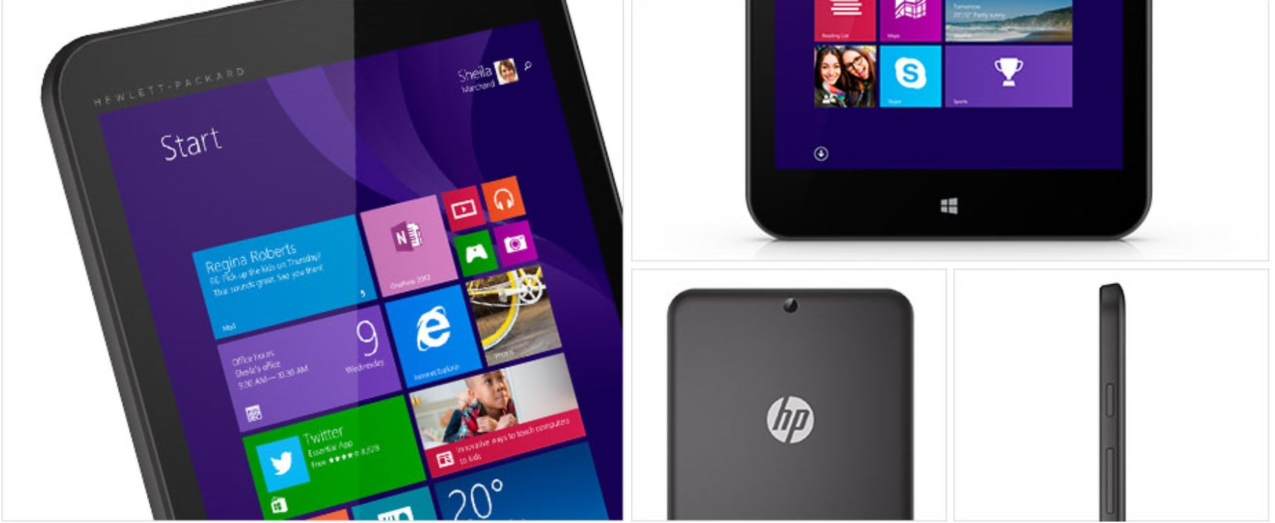 HP Stream Tablets 1