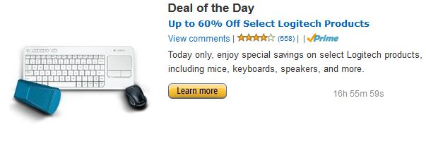 Logitech Amazon Deal