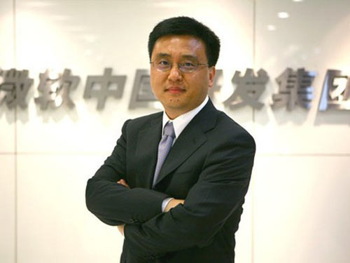 Microsoft China Zhang