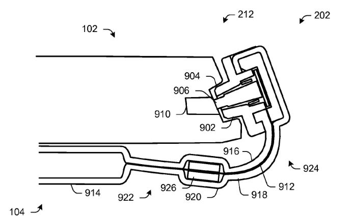 Microsoft Surface Cover Connector Patent