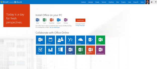 Gut gemocht Microsoft Announces New Home Page In Office 365 For Exchange And  CF63