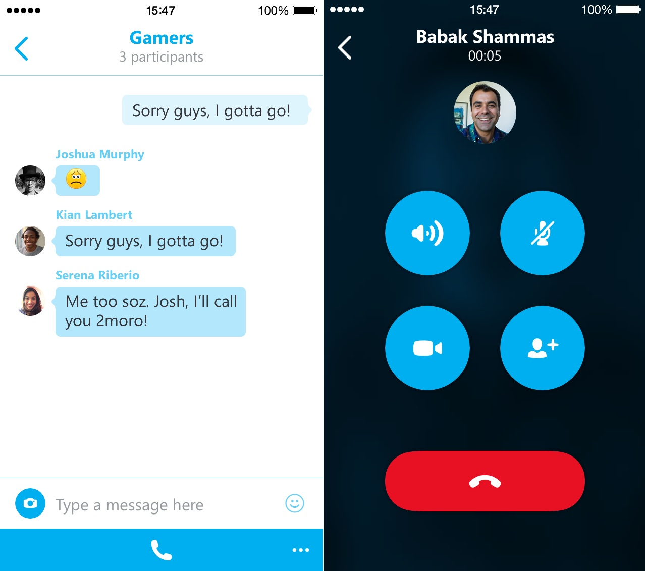 Skype for iOS Update