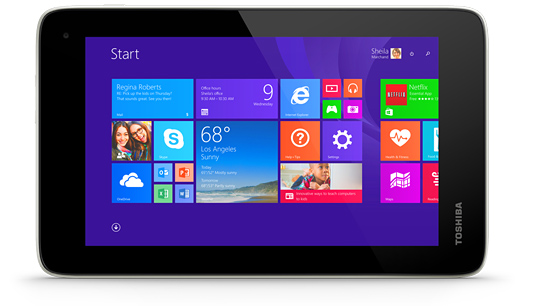 Toshiba Encore Mini Windows Tablet