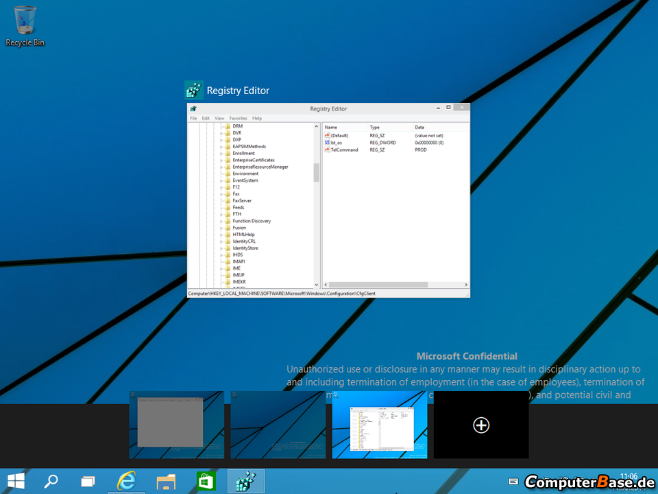 Windows 9 Virtual Desktop
