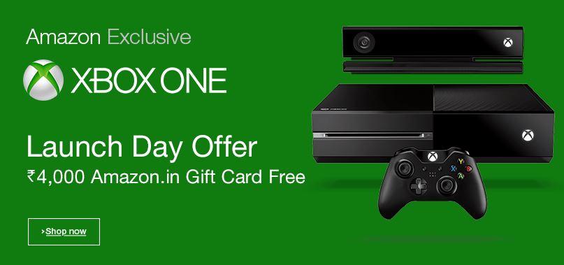 Xbox One Amazon India