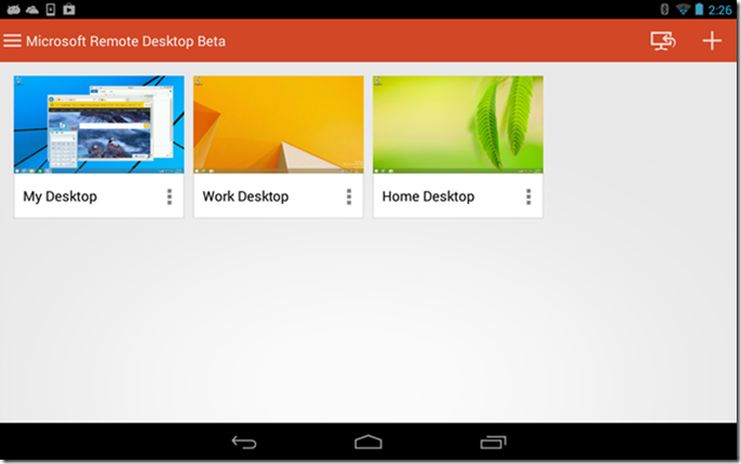 Android Remote Desktop Manager