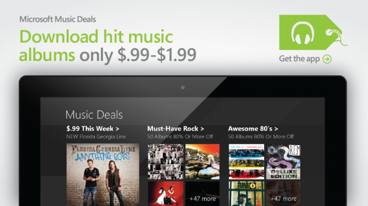 Microsoft Music deals