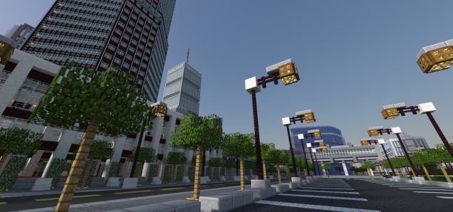 Minecraft City1
