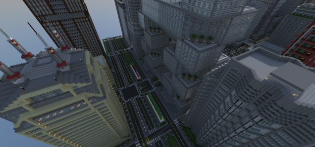 Minecraft City2