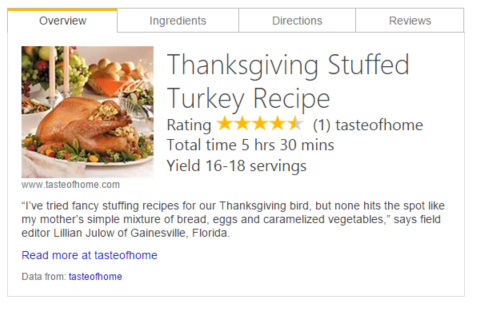 Bing Recipes