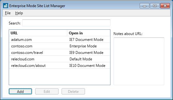 Enterprise Mode
