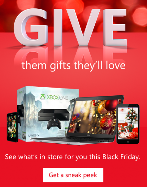 Microsoft Store Blackfriday Deals