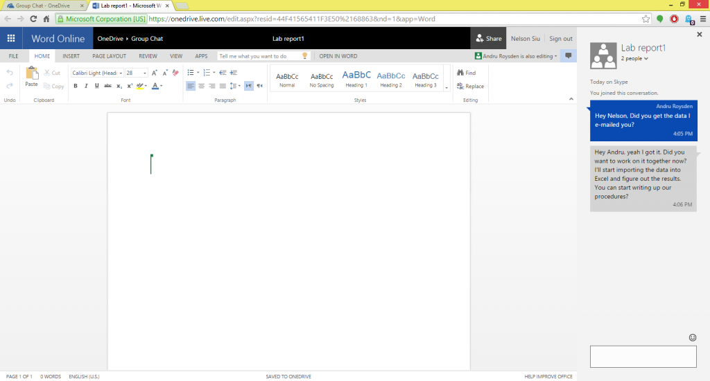 Office Skype