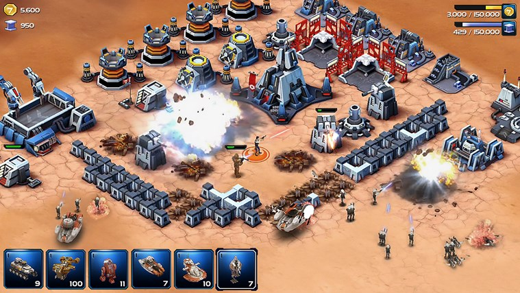Star Wars Commander Windows Store