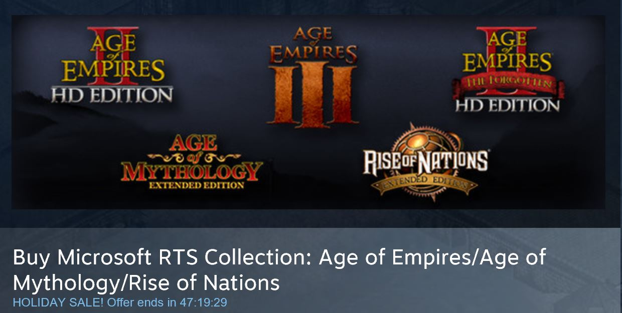 Age of Empires Deals