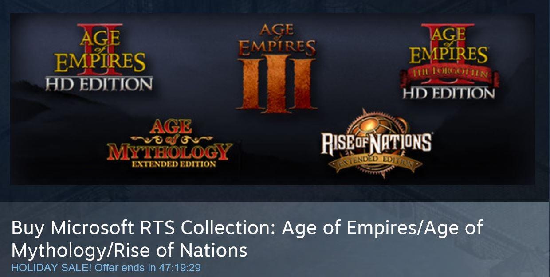 Age of Empires Deals