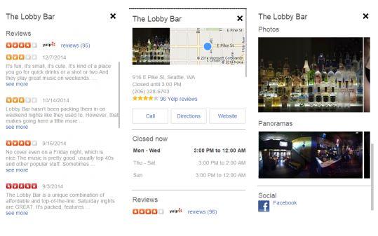 Bing Local Mobile