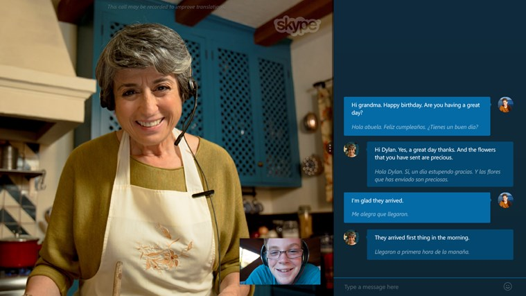 Skype Translator Preview
