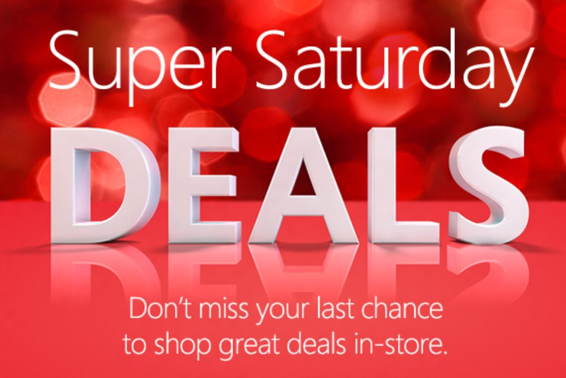 Super Saturday Deals