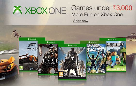 Xbox One Games India