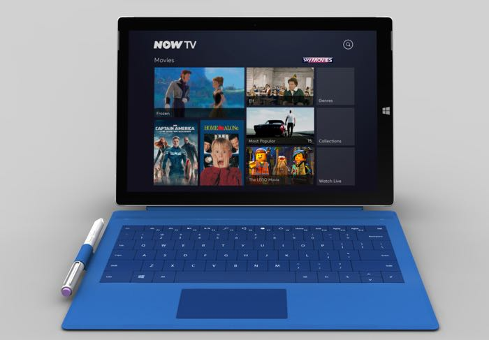 Sky releases Now TV app for Windows 8.1