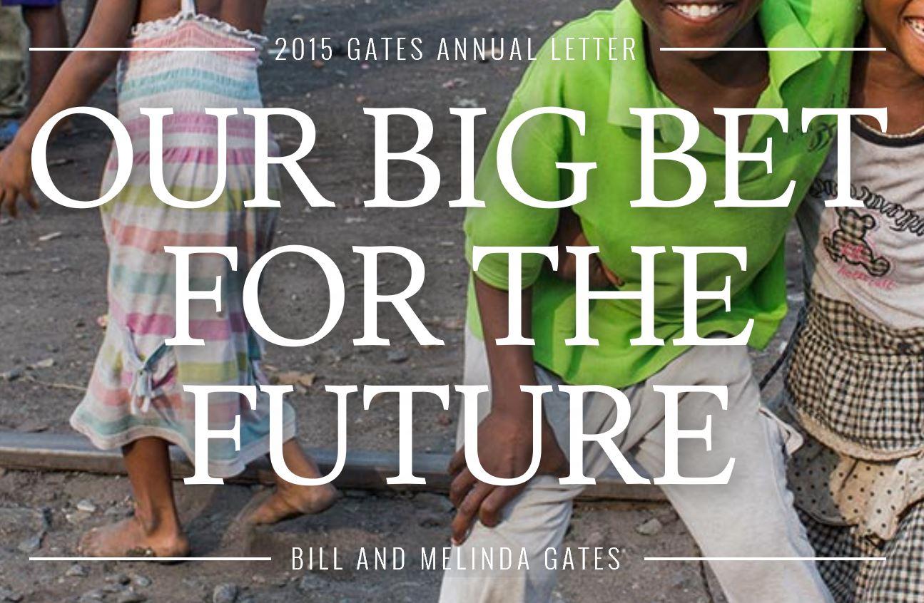 2015 Gates Annual Letter