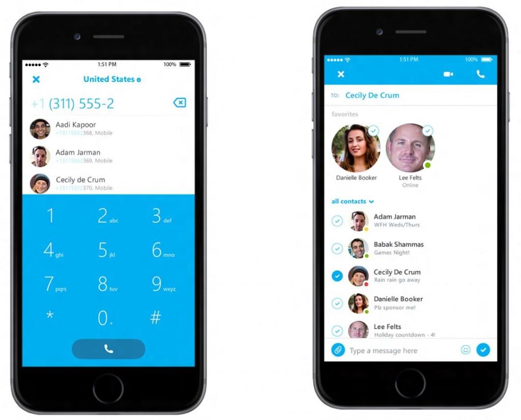 Microsoft Skype iOS Update