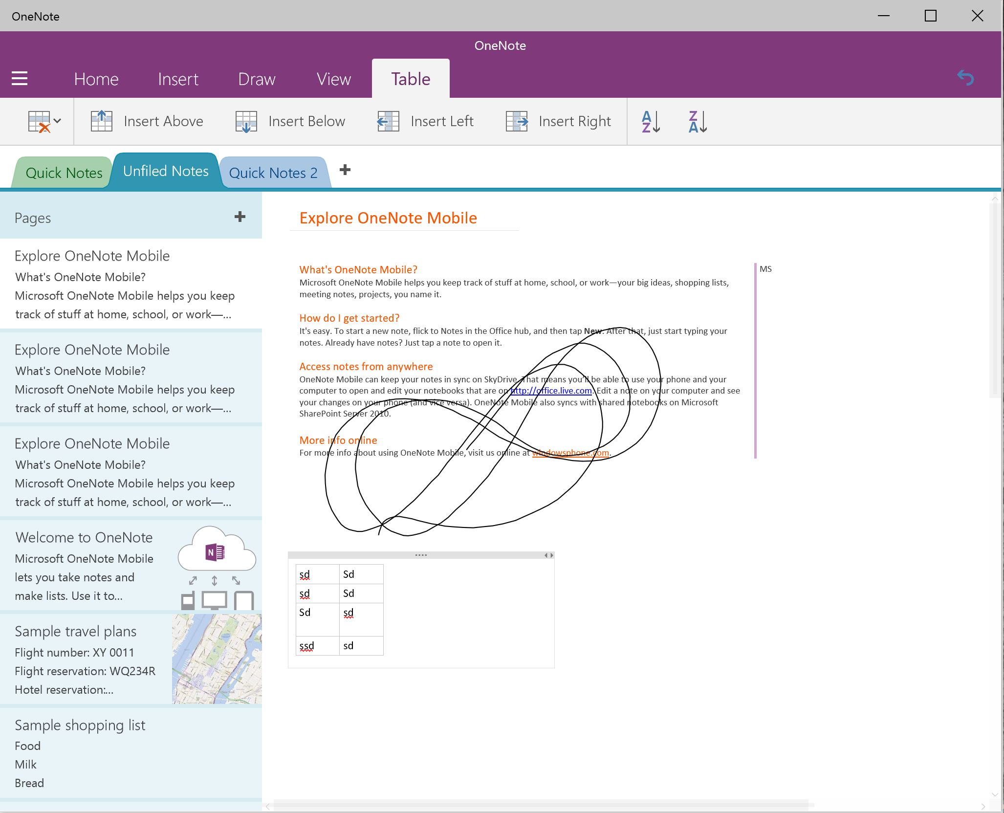 Drawing Lines In Onenote : Check out the new onenote preview app on windows build