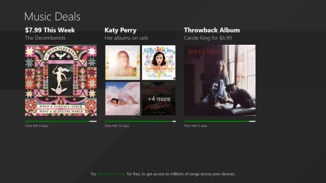 Windows Store Music Deals Jan Last Week