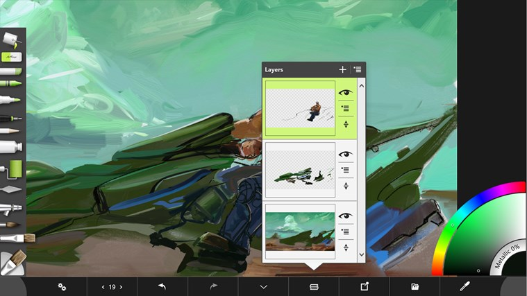 ArtRage Touch Windows Store
