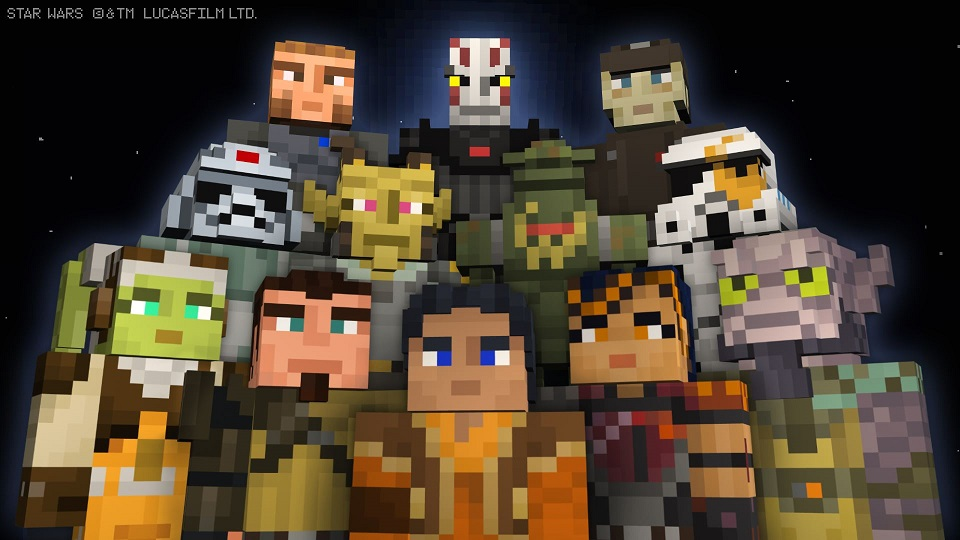 Minecraft Star Wars Rebels Skin Pack Now Available For Download On - Minecraft skins fur pc download