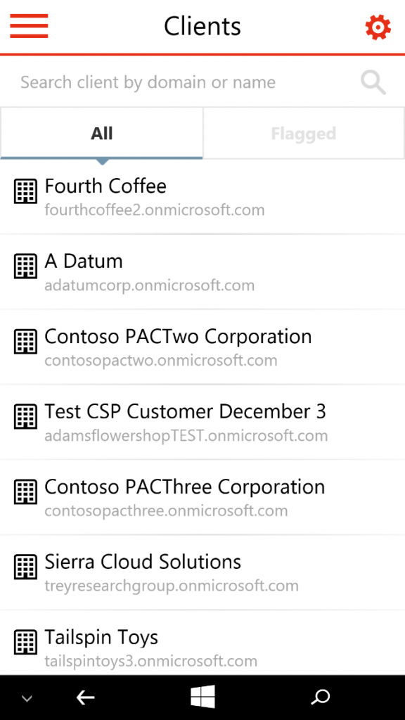 Office Partner Admin App