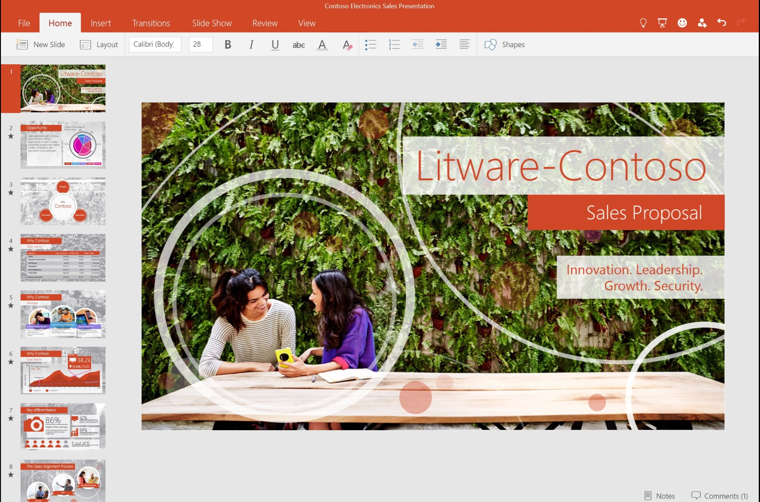 Microsoft office alternative/replacement for windows 10/8.