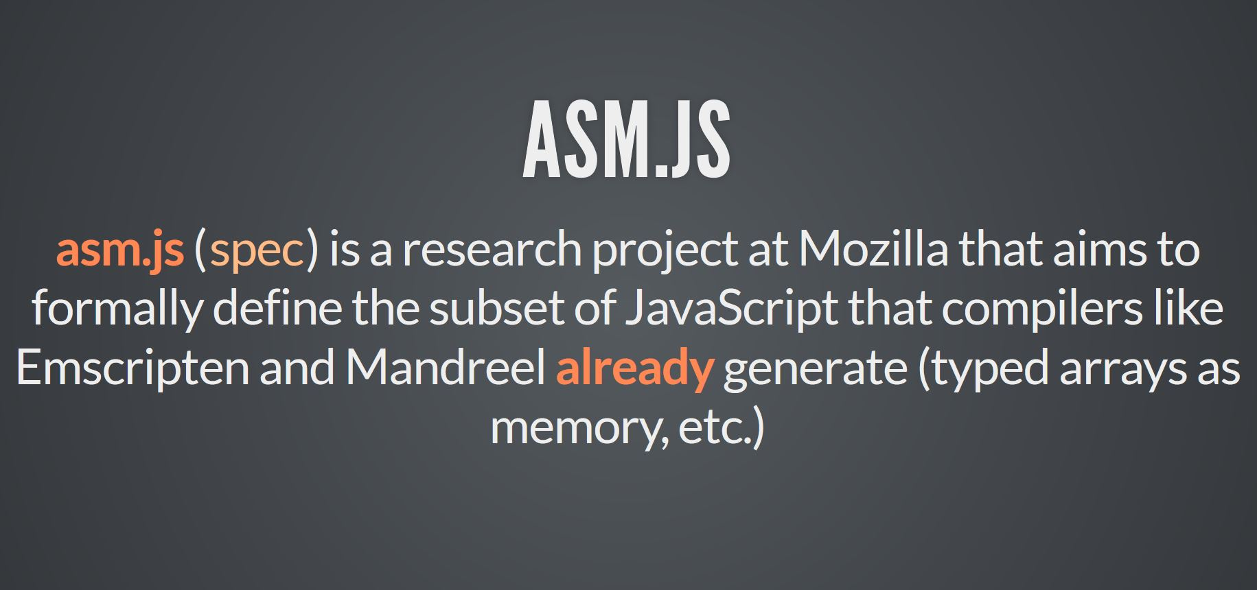 Great news: Microsoft is adding asm js to the Chakra JavaScript