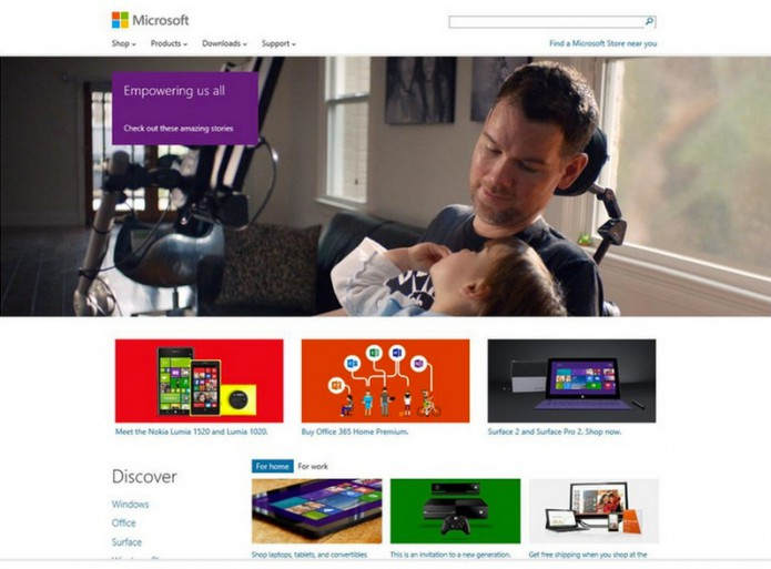 Microsoft Webpage 2014