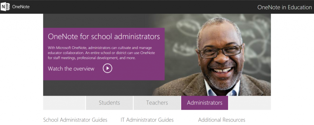 OneNote website