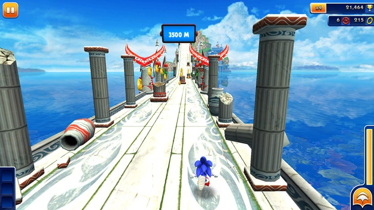 Sonic Dash Windows Store