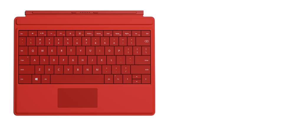 Surface 3 Type Cover REd