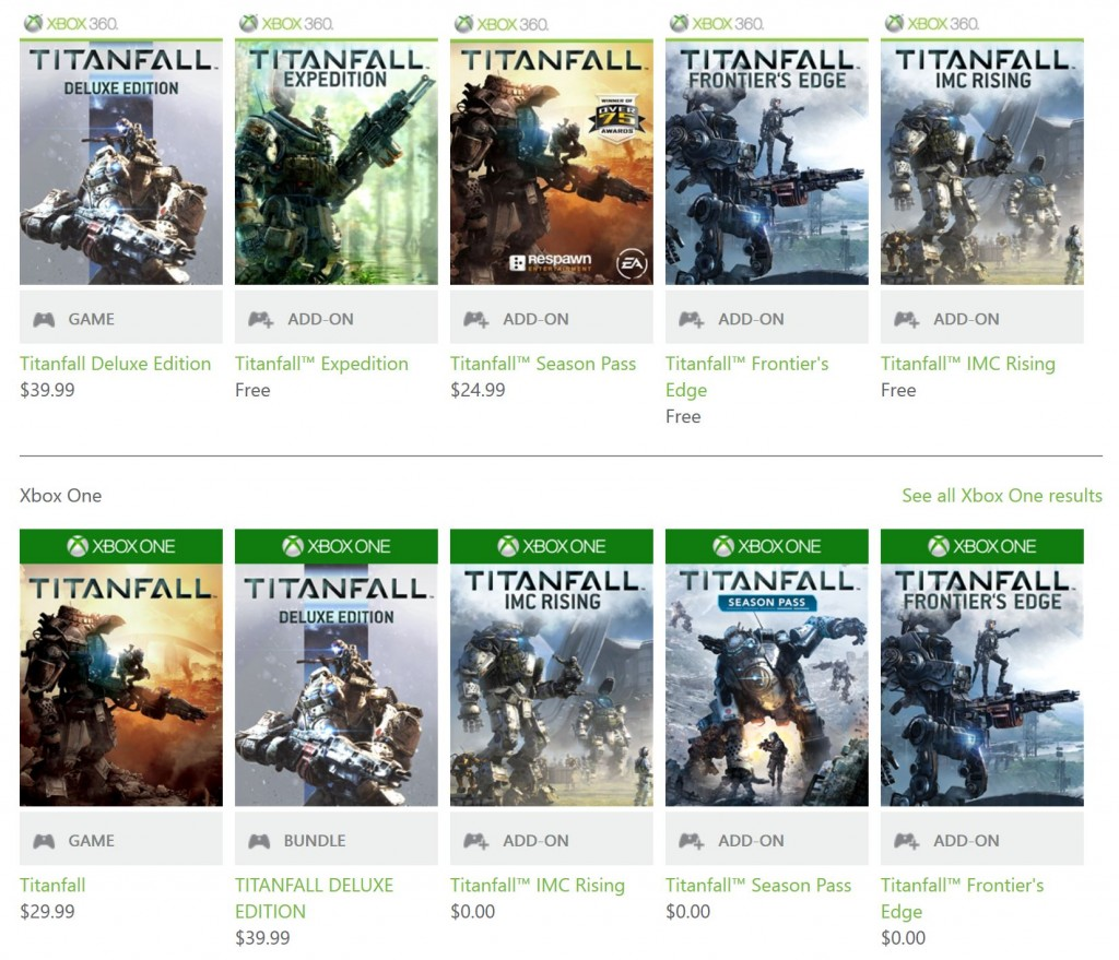 Titanfall Add-ons