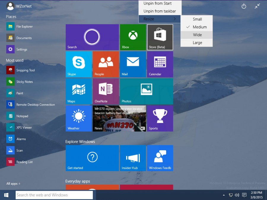 Windows 10 Build 10031 5
