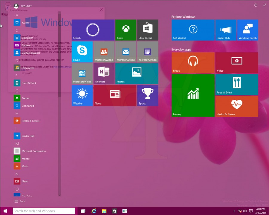 Windows 10 Build 10036 2