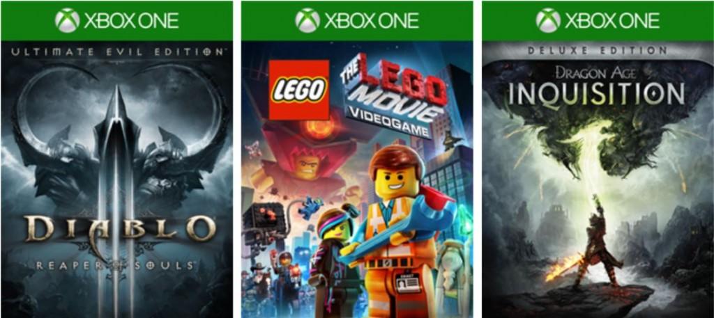 Xbox One deals april