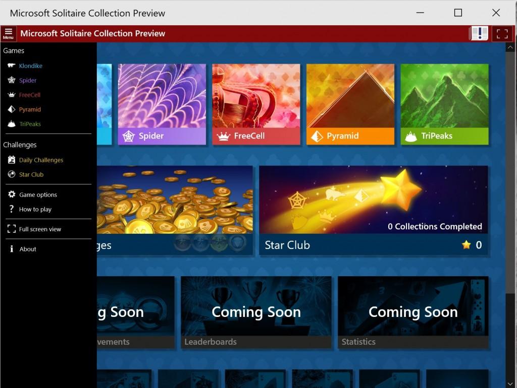 Microsoft Solitaire Windows 10 2