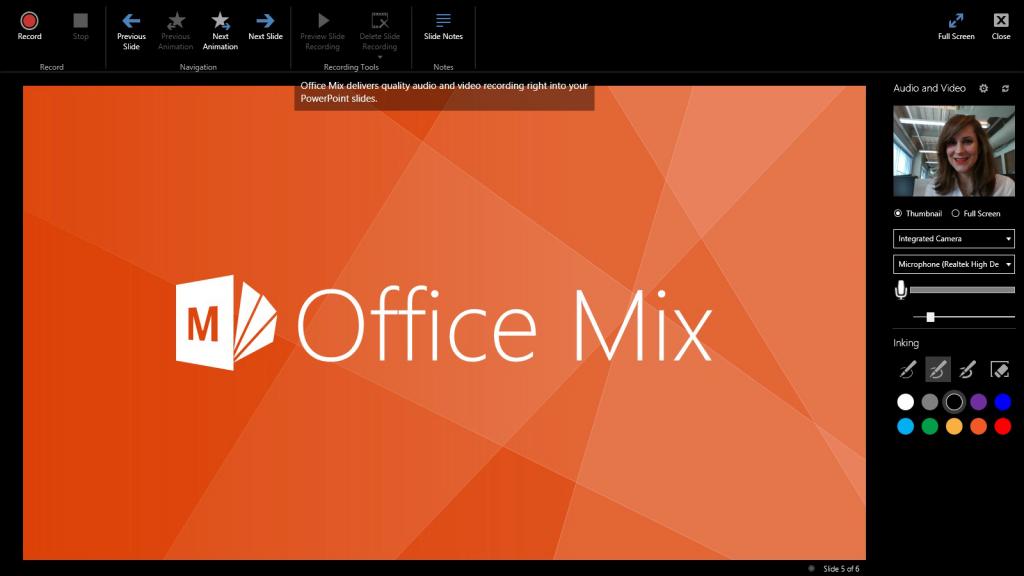 Office Mix Update