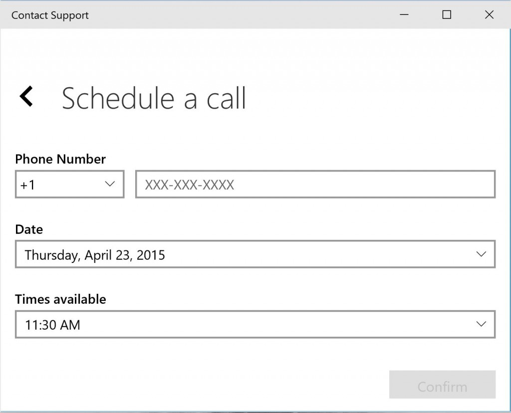 Windows 10 Contact Support 2