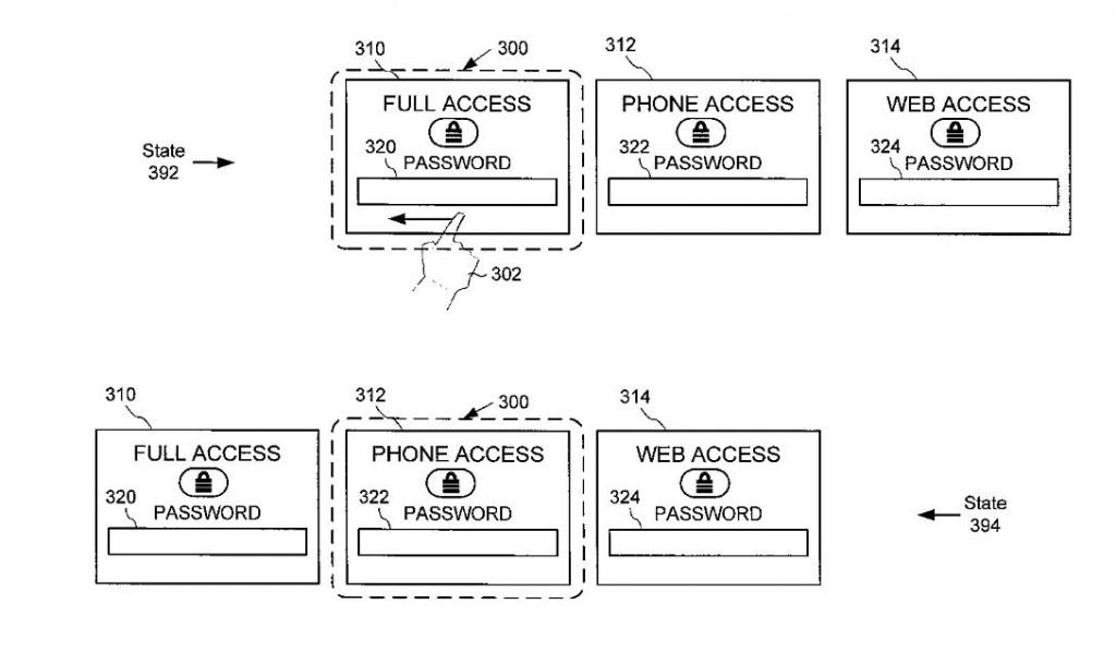 Microsoft Lockscreen Patent