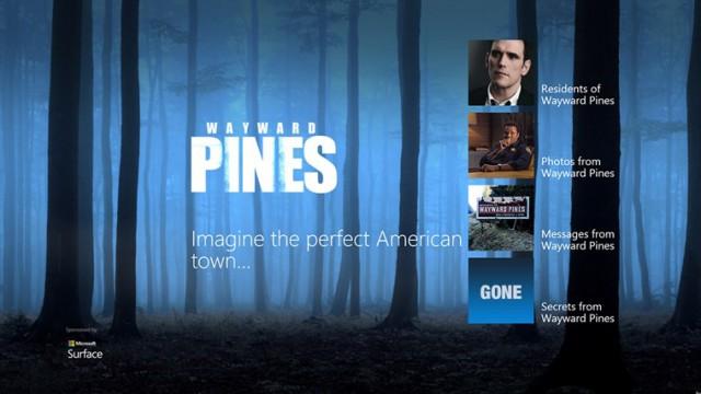 Wayward Pines Story Windows Store