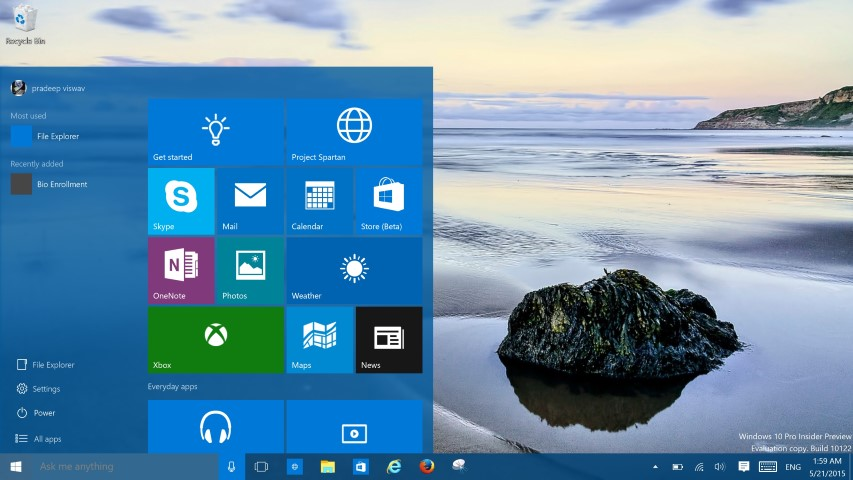 Windows 10 Build 10122 1 (Small)